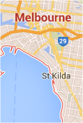 Plumber Melbourne coverage map
