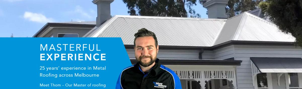 Watermaster Roofing Melbourne Metal Roof Installation, Repairs